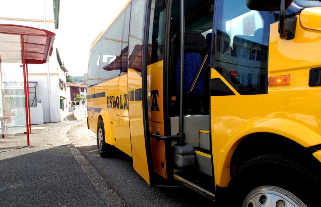 Transporte Escolar en Irún