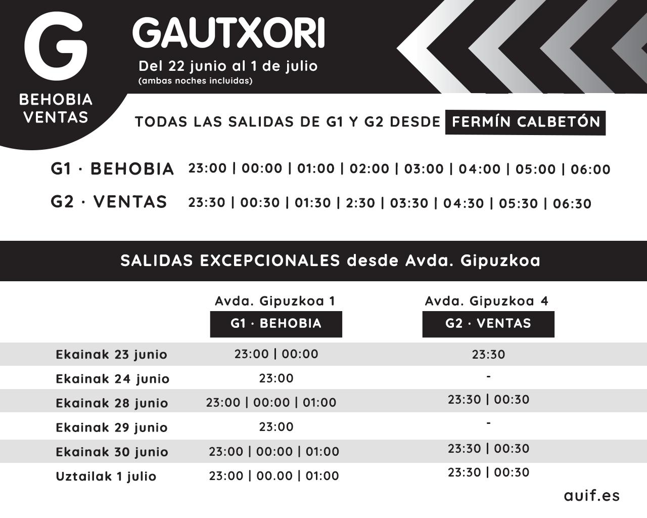 Gautxori San Marcial 2018