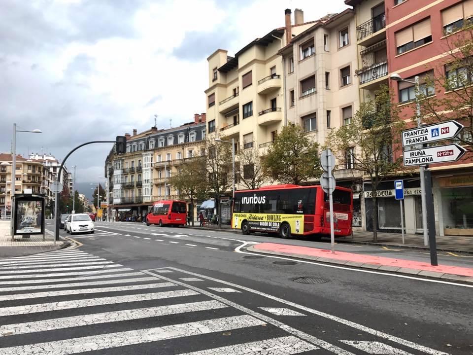 Autobuses urbanos de Irunbus