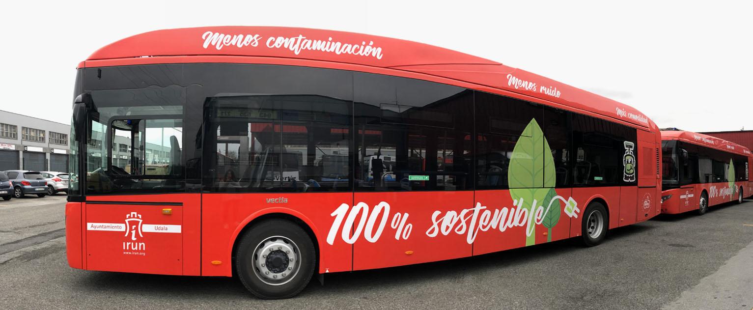 Bus eléctrico - Irunbus