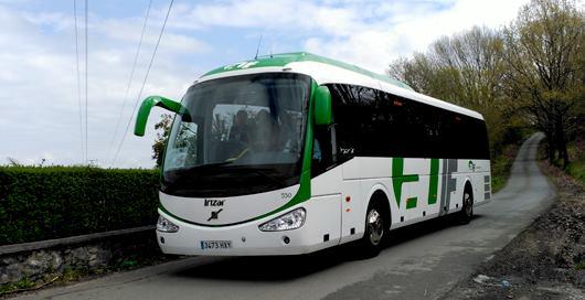 alquiler de autobuses para sidrerías