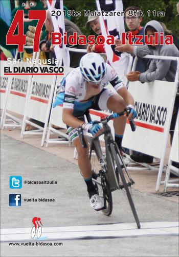 Cartel Vuelta al Bidasoa