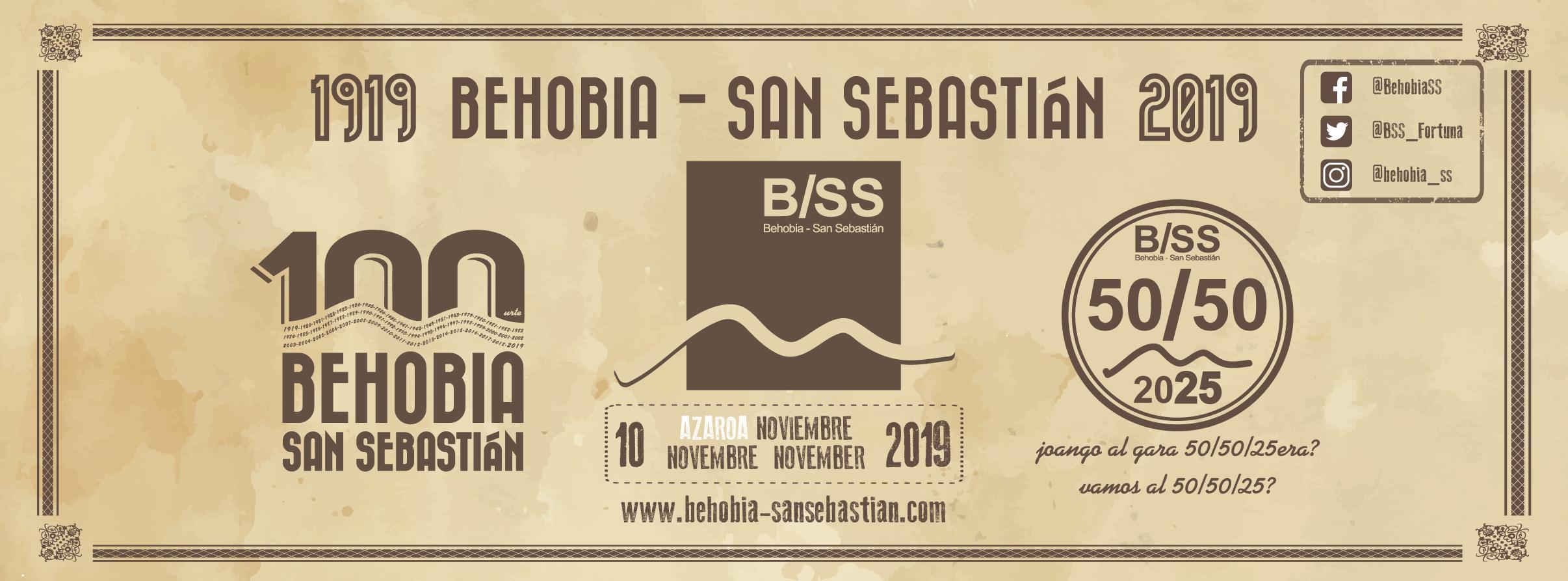 Behobia - San Sebastián 2019