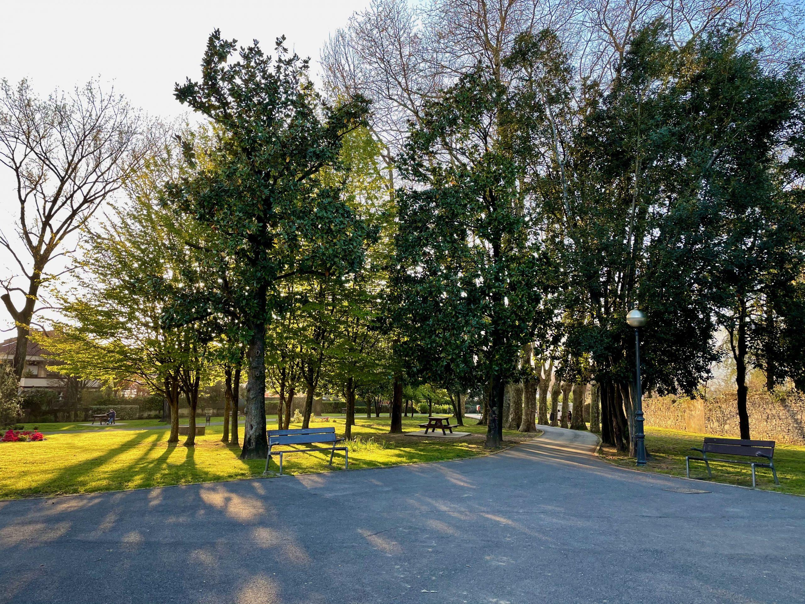 Parque Barón de Oña en Irun