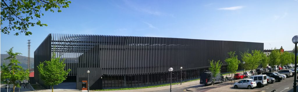Exterior del edificio Gordailua, en Irun