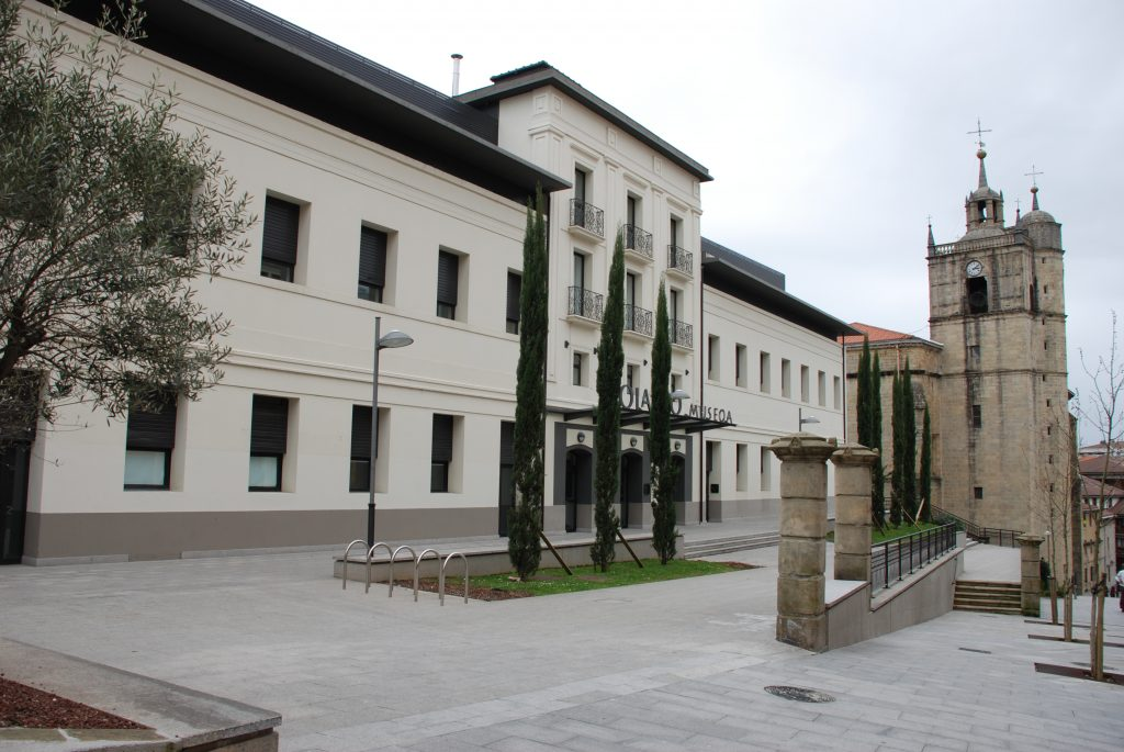Exterior del Museo Oiasso en Irun