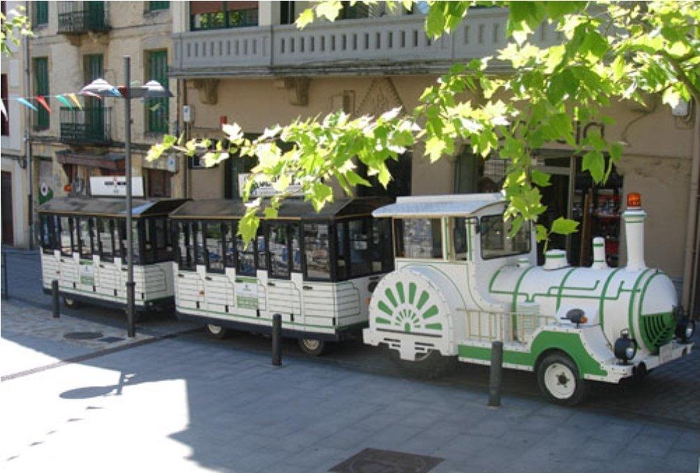 Irun, tren verde